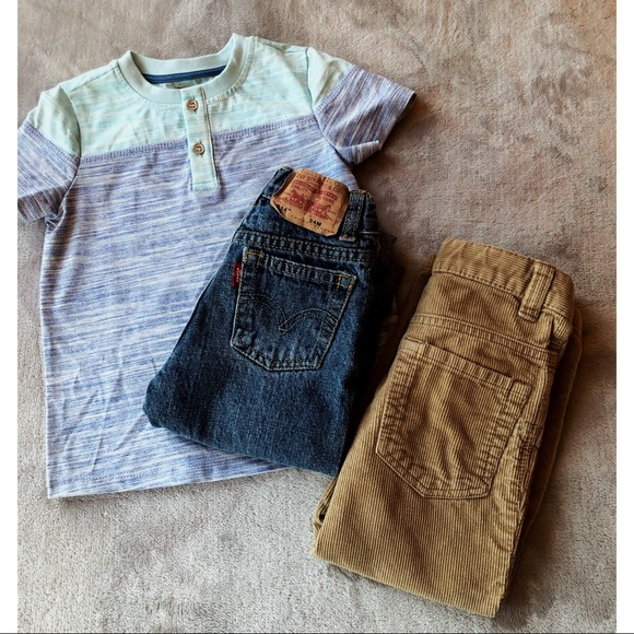 Levi's Other - KIDS HOST PICK《 Boys bundle《 Crew Box 》